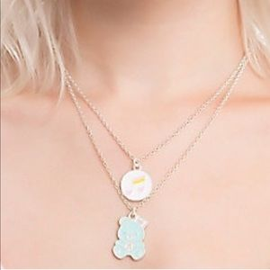 New Care Bears 2 pack necklaces